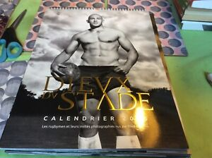 Dieux du stade French Rugby calendar 2016 40 photos