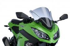 PUIG RACING WINDSCREEN DK SMK for Kawasaki EX300F Ninja 300 2013-2015 Dark 6463F