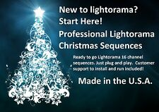 New 2017 Lightorama 16 channel sequences! Over 50 to choose from! $6.99 each!