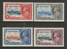British Virgin Islands 1935 Silver Jubilee set SG 103-106 Mint.