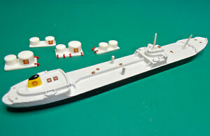 TRIANG MINIC SHIPS M732 SHELL TANKER VARICELLA  & storage tanks code3
