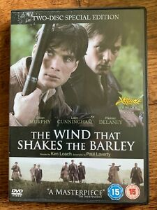 Wind that Shakes the Barley DVD 2006 Ken Loach Irish Black and Tan War Movie