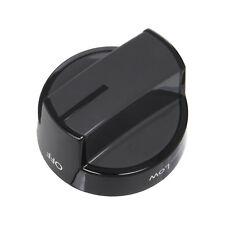 Stove Surface Burner Knob Control Range Oven Cooktop Whirlpool W10339442 Black
