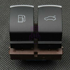 Chrome Fuel Tank Door Trunk Release Button Switch for VW EOS Jetta Passat B5 CC