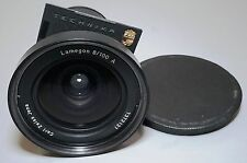 Carl Zeiss Jena Lamegon 100mm f8 Wide Lens Linhof Technika Board 4x5 5x7 Camera