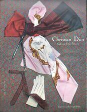 """▬► PUBLICITE ADVERTISING AD Christian Dior """"Cadeaux de fin d'années"""""""