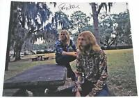 Gregg Allman ALLMAN BROTHERS BAND Signed Autograph 16x20 Photo Poster w/ Duane