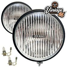 Vintage Warehouse 65 Classic Rally Style 12v 55W Fog Lamps Spot Lights Pair