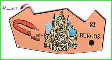 Ancien Magnet Le Gaulois ville du Monde BURGOS 82 Cathédrale