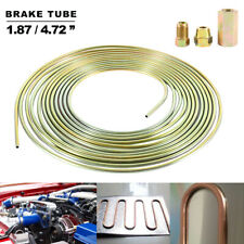 "25ft 3/16"" Copper Nickle Brake Pipe Hose Kit 10 Male & 10 Female Nuts Union"