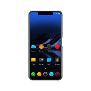 "smartphone glofiish Notch screen 5.85"" Android 8.1, facelock, fingerprint, 2SIM"