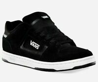 VANS DOCKET (Suede) Black White Skate Sneakers Casual Canvas Fashion Shoes