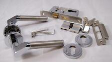 Venus Mango Pack pc/sss (interior Cilindro & Turn lockset), de 45 mm puertas contra incendios