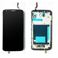 Black LCD Display Touch Digitizer Screen Assembly + Frame for LG Optimus G2 D802
