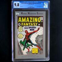 Marvel Milestone Edition Amazing Fantasy #15 💥 CGC 9.8 💥 1992 REPRINT Rare!