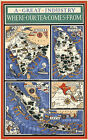 1937 Map Where Our Tea Comes From Wall Art Poster Print Decor 10'x16' History