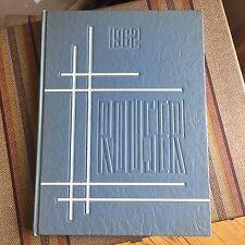 Riverside Brookfield Yearbook High School Rouser 1962 Vintage