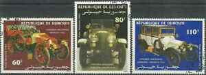 Timbres Voitures Djibouti PA190/2 o (40889Z)