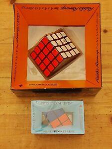 Rare Vintage Sealed Rubiks's 4x4 and 2x2 Lot Twisty Slide Puzzle Brainteaser