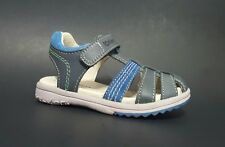 New $80 KICKERS Platinium Kids Toddler Boys LEATHER Sandals Size 8,5 USA/25 EURO
