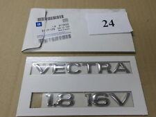 """Emblem/Logo """"VECTRA 1.8 16V"""" Opel VECTRA B 9119022/5177179 original OPEL"""