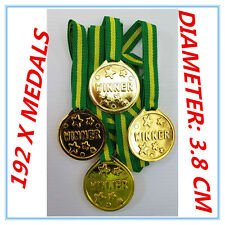 192 OLYMPIC Gold Medals Children Kids Plastic Winner Costume Party Toys-PARTY AP