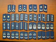 07's series China PLA Air Force Camouflage Uniform Collar Rank Badge,set,22 Pair