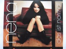 "Nena   Das ist normal   5"" Promo Maxi-CD   2 Tracks   1998   NEU!!  ultra rar!!!"