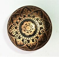 One Single Antique Vintage Eastlake Victorian Ornate Door Knob Reclaimed Salvage