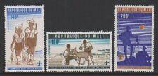 Mali - 1976, 1st All-African Scout Jamboree, Nigeria set - MNH - SG 541/3