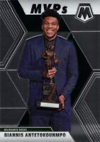 Giannis Antetokounmpo 2019-20 MOSAIC MVPs Base Card #297 Milwaukee Bucks NBA MVP