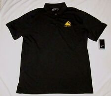 NIKE GOLF Mens POLO Shirt NWT NEW XL DRI FIT LAW LION OHIO LAWYERS TOP BLACK
