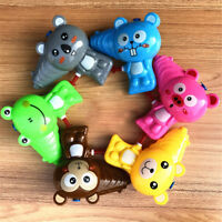 Cartoon Animal Soap Water Bubble Gun For Kids Outdoor Blowing Bubbles ToysE DD