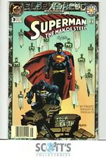 SUPERMAN : THE MAN OF STEEL  ANNUAL #3   NM-  ( SIGNED BY MIGNOLA )