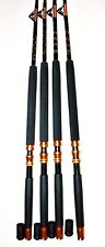 Saltwater Fishing Rods 160-200Lb (4Pack )Fishing Poles Rod For Penn Shimano