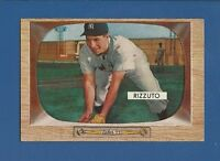 1955 Bowman # 10 Phil Rizzuto - HOF - New York Yankees  EX+ Additional ship free