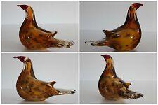 Scandinavian Art Glass Large Bird Paperweight  1,160 Kg
