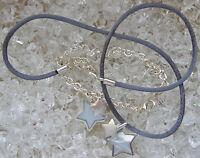 Wow Set ✴✴ Stern Schmuck Perlmutt Anhänger 925 Silber Armband Silber Kette Damen