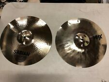 "Sabian 14"" HHX Evolution hi-hats 11402XEB  ** Mint Condition **"