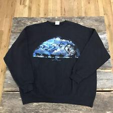 Vintage Lee Heavyweight Xl Princess Cruises Alaska Sled Dog Borealis Sweatshirt