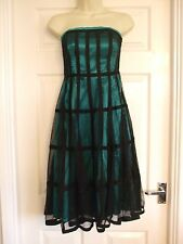 size 10 strapless womens dress party Summer Prom Winter Cocktail Ladies Occasion