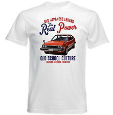 VINTAGE JAPANESE CAR HONDA ACCORD 1800 - NEW COTTON T-SHIRT