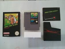 Donkey Kong Jr. Math Rare Nintendo NES excellent conditions SNES Game Boy N64