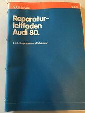 Reparaturleitfaden Audi 80 1,6l Motor K-Jetronic Reparaturanleitung