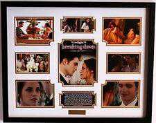 New Twilight Breaking Dawn Signed Limited Edition Memorabilia Framed