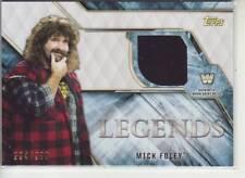 2017 WWE Legends Mick Foley shirt relic