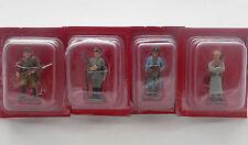 Lot 4 Figurine Hachette Guerre Mondiale 1914 Russie Officier Fantassin Femme