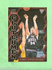 1995  FUTERA AUSTRALIAN  BASKETBALL CLUTCHMEN  CARD CM12  TONY RONALDSON