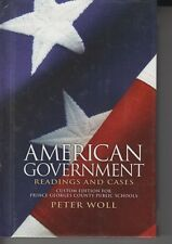 American Government Readings And Cases Custom Edition ISBN 9781256756699 eby1