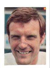 Paul Madeley Leeds United 1963-1981 Original Firmada A Mano Imagen De Corte
